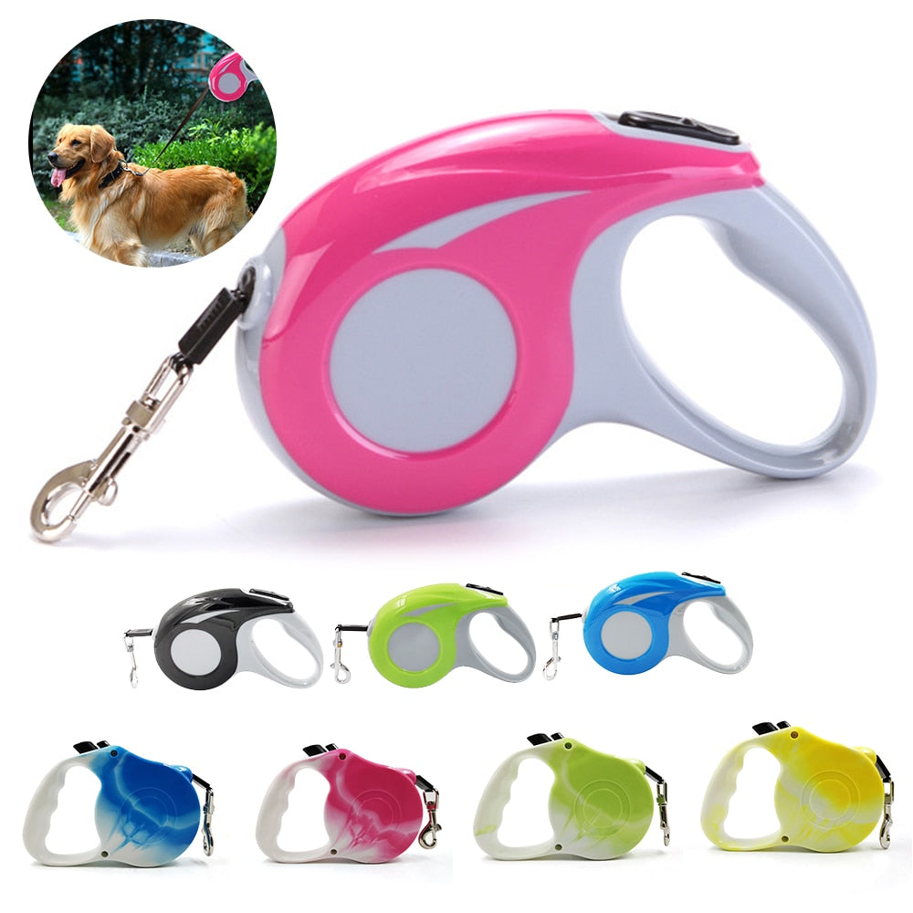Dog Leash Retractable and Flexible