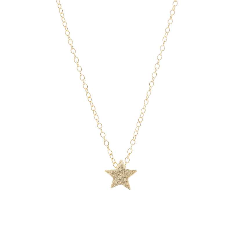 Satin Star Necklace- Mini
