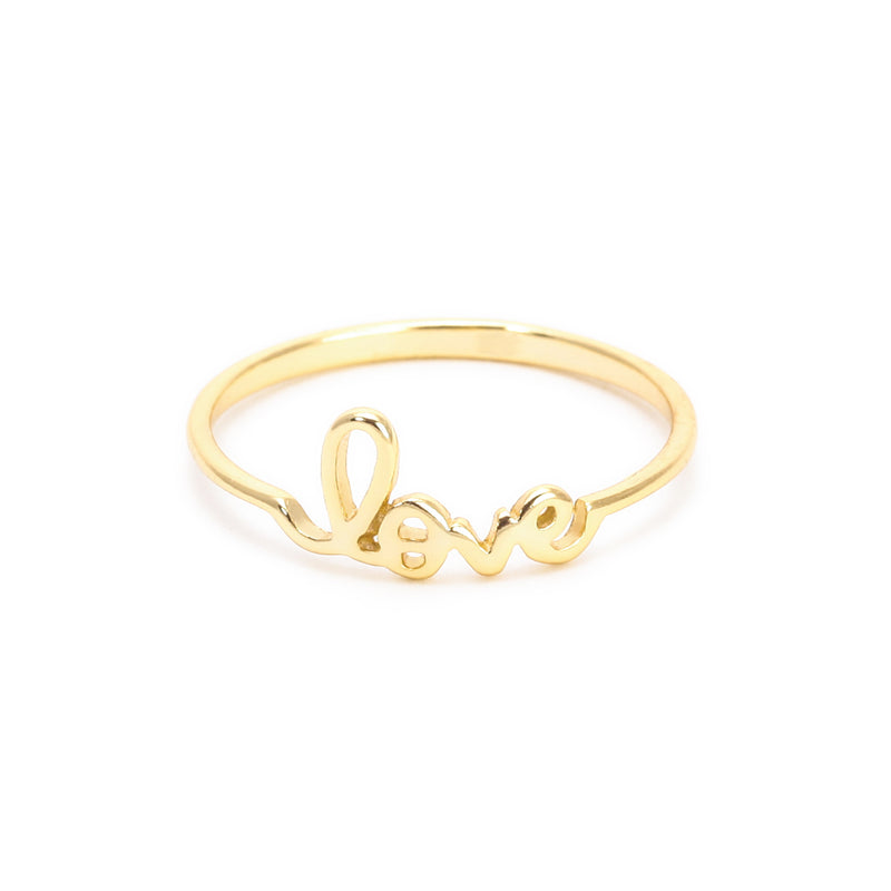 Love Ring- Plain Mini