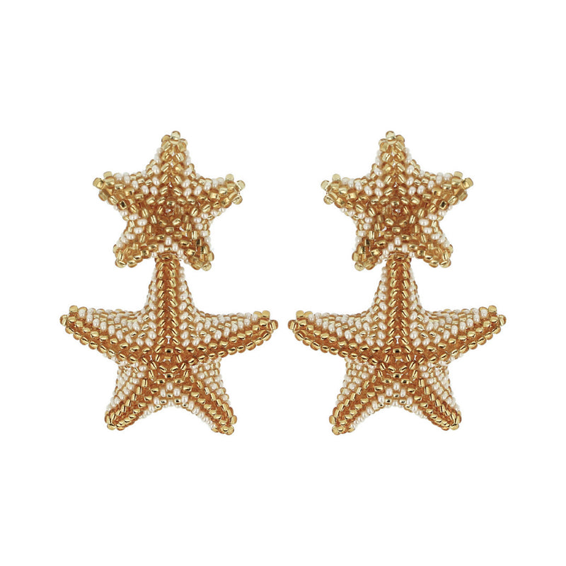 Starfish Chandelier earring