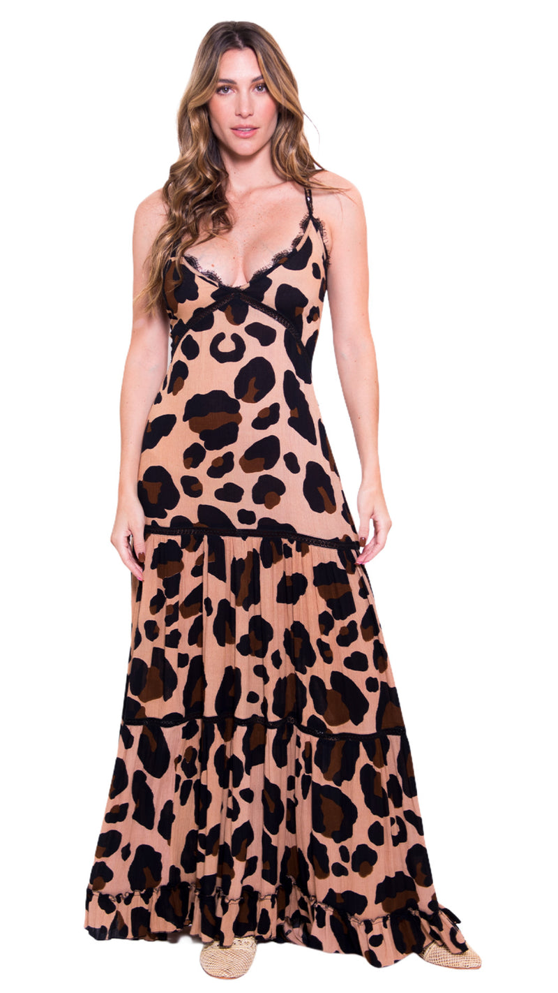 Macadamia Maxi Dress