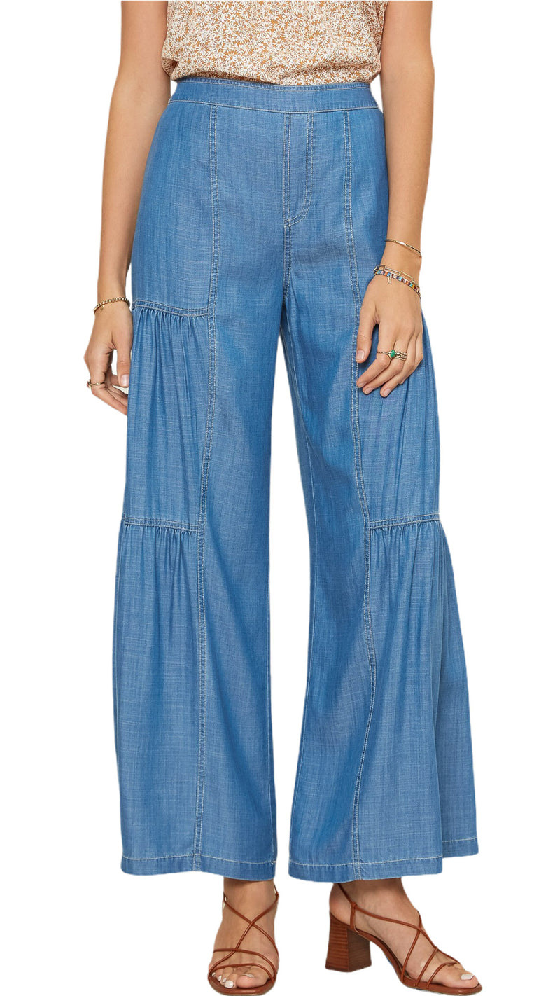 Ann Wide Tiered Pants