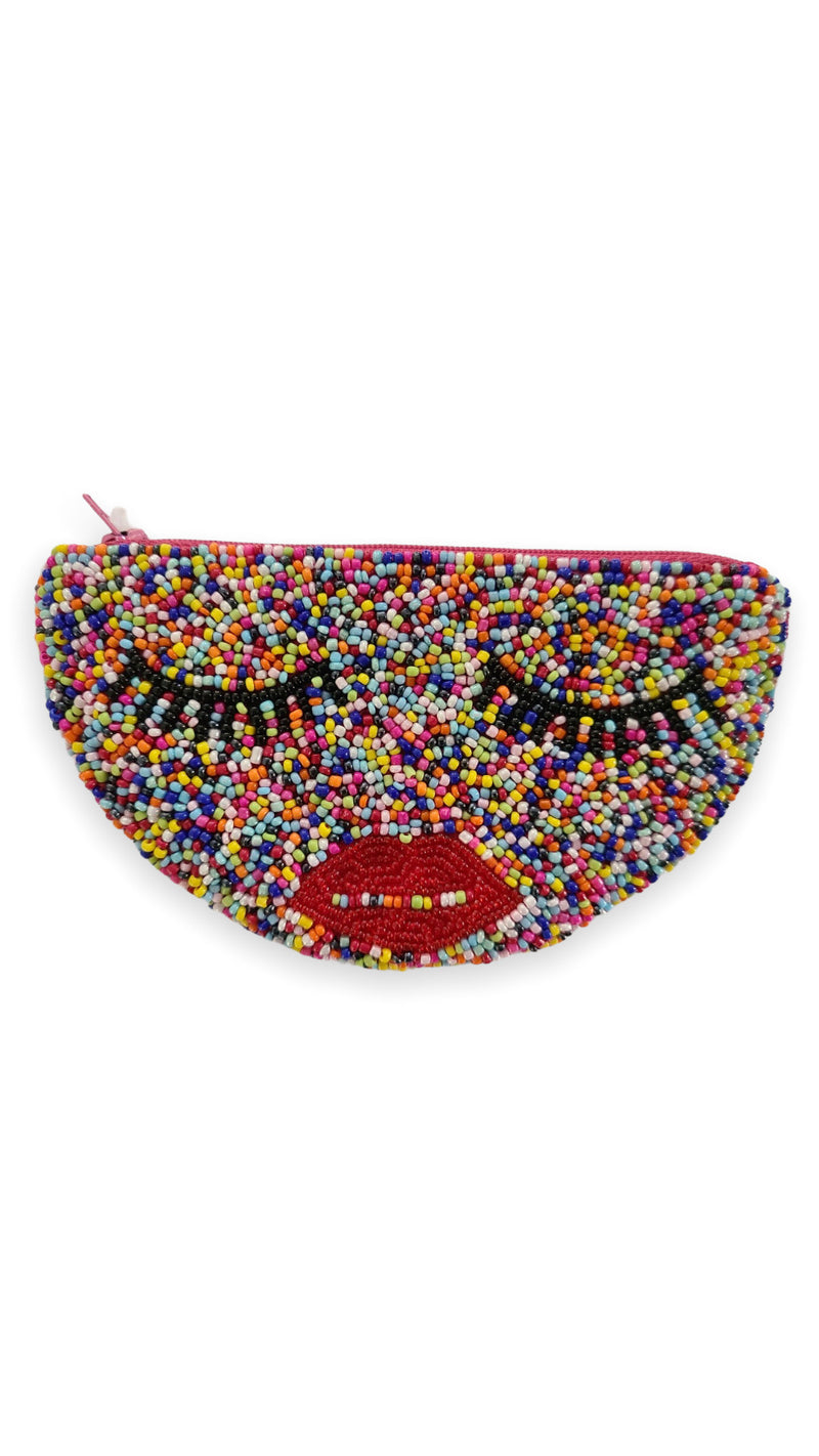 Halfmoon Eyes Coin Purse