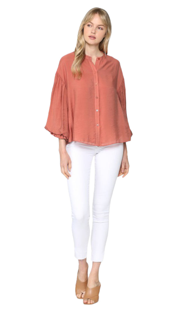 Amy Puff Sleeve Blouse
