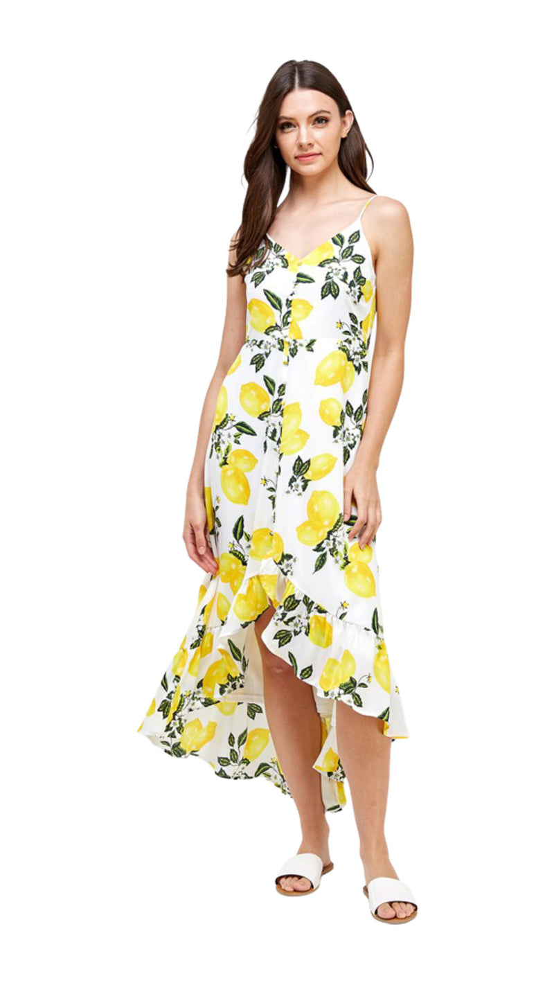 Lemonade Midi Dress