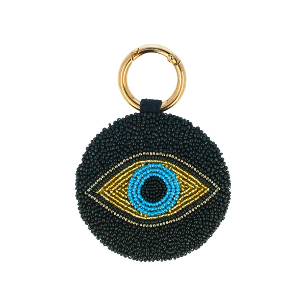 Beaded Key Ring