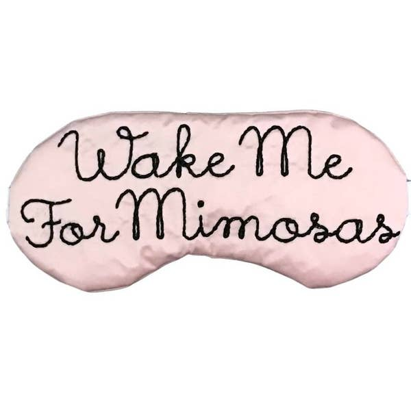 Wake me For Mimosas Mask