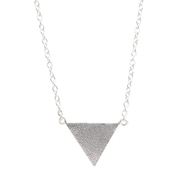 Triangle Necklace- Plain