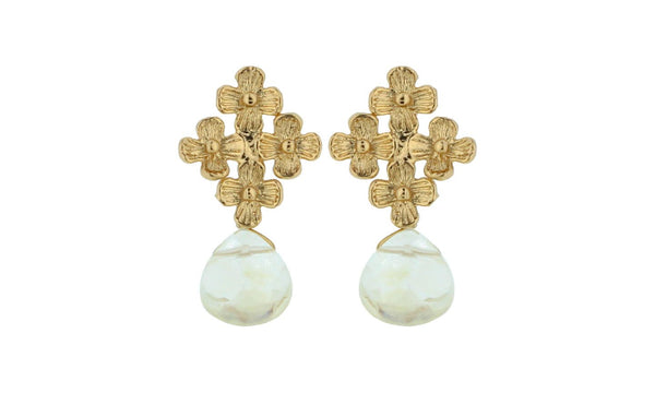 Daisy Mini Drop Earring