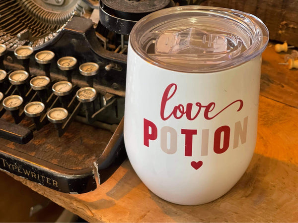 LOVE POTION INSULATED DRINK CUP