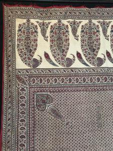 fine kalamkari with boteh C19th