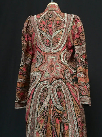 Kashmir Embroidered Woman's Coat, India Circa 1860