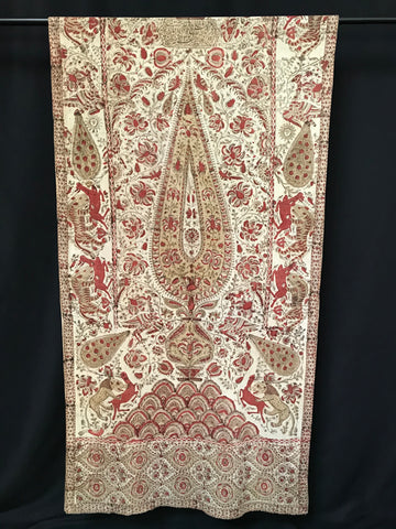 Kalamkari Block Printed Hanging, Persia C19th