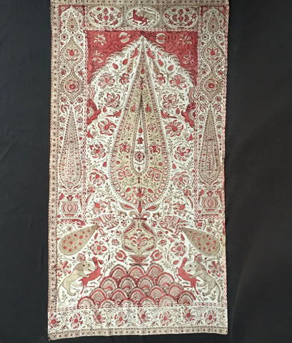 Kalamkari Panel Wall Hanging C19th