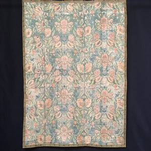 Large 18th Century Silk Brocade Panel, European