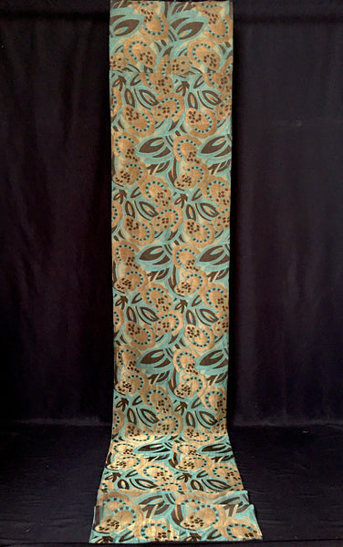 Art Deco Hanging Lamé silk brocade C1920s