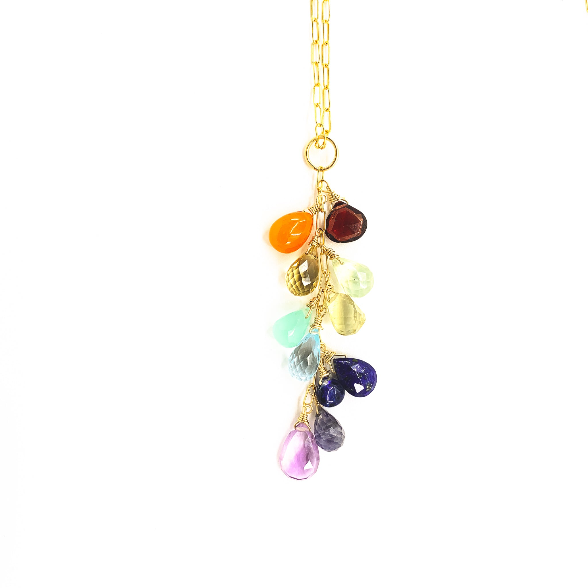 Rainbow Gems Necklace - The Hawaii Rainbow Collection