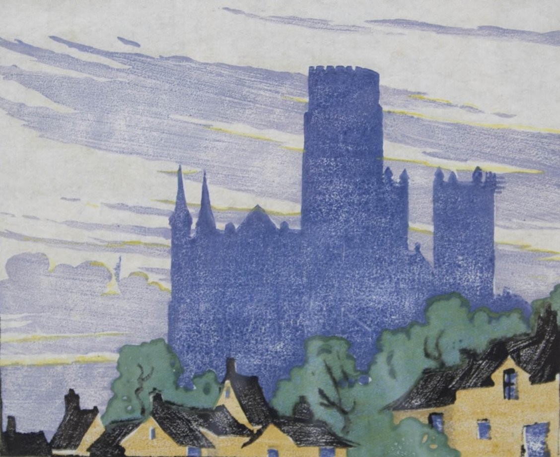 Ethel Spowers - 'Durham Cathedral'