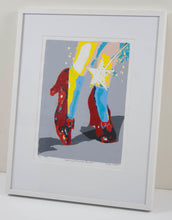 Load image into Gallery viewer, Philippe Le Miere wizard of oz ruby shoes painting art movie unofficial