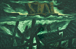 Rick Amor 'Study for 'The Rock and the Sea''