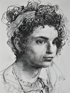Pietro Annigoni 'Senza Titolo (Study for a Portrait of a Roman Girl)'
