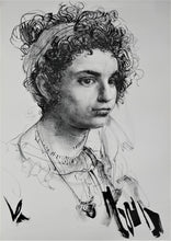 Load image into Gallery viewer, Pietro Annigoni 'Senza Titolo (Study for a Portrait of a Roman Girl)'