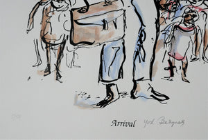 Yosl Bergner 'Arrival, from The Kimberley Album'