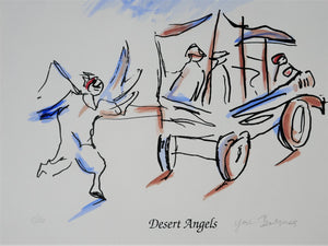 Yosl Bergner 'Desert Angels, from The Kimberley Album'