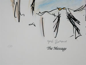 Yosl Bergner 'The Message, from The Kimberley Album'
