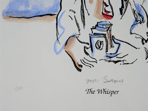Yosl Bergner 'The Whisper, from The Kimberley Album'