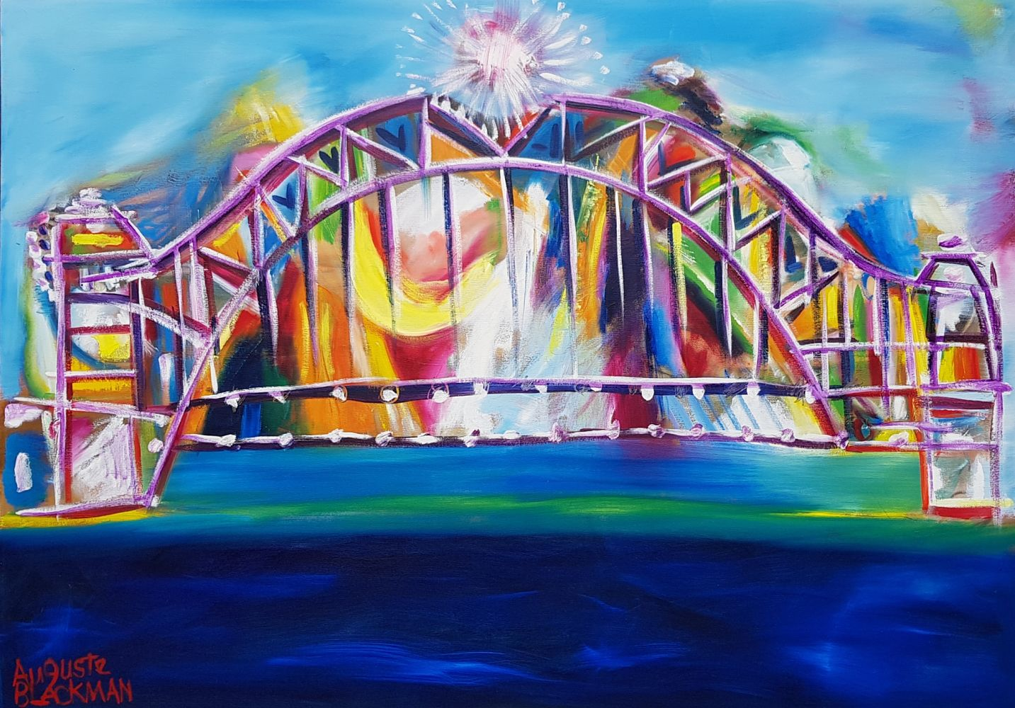 Auguste Blackman 'Big Bridge'