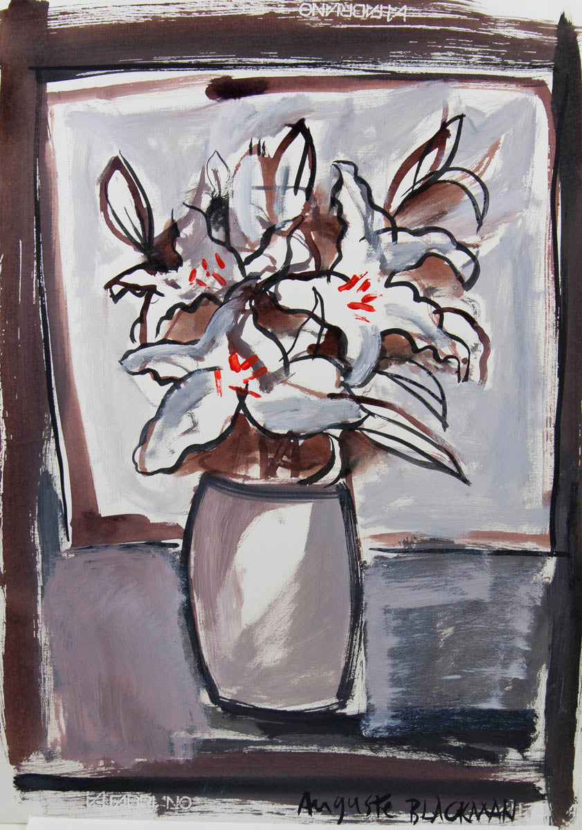 Auguste Blackman 'Lillies I'