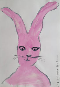 Auguste Blackman 'Rabbit in Thought'