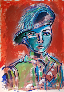 Auguste Blackman 'Soldier Boy'
