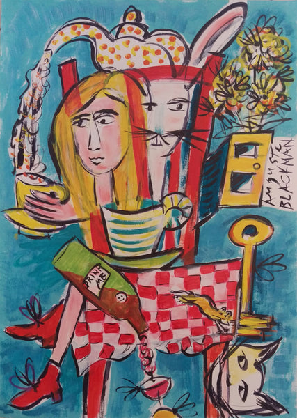 Auguste Blackman 'A La Table'