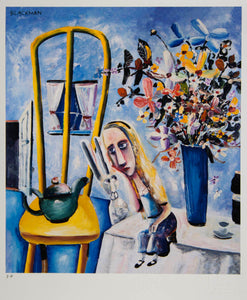 Charles Blackman 'Alice on the Table'