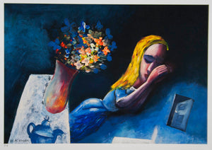 Charles Blackman 'Dreaming Alice'