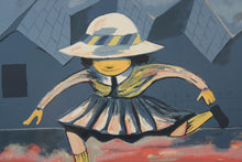 Load image into Gallery viewer, Charles Blackman 'Schoolgirl Jumping'