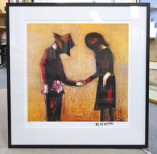 Load image into Gallery viewer, Charles Blackman 'The Meeting' - pigment print on paper - ALMOST SOLD OUT