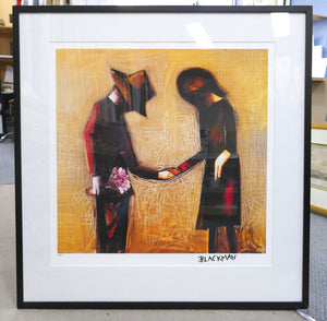 Charles Blackman 'The Meeting' - pigment print on paper - ALMOST SOLD OUT