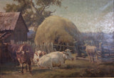 Robert Camm 'Cattle and Hay'