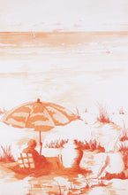 Load image into Gallery viewer, Neil Caffin 'The End of Summer' - etching on paper