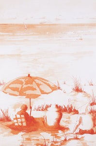 Neil Caffin 'The End of Summer' - etching on paper