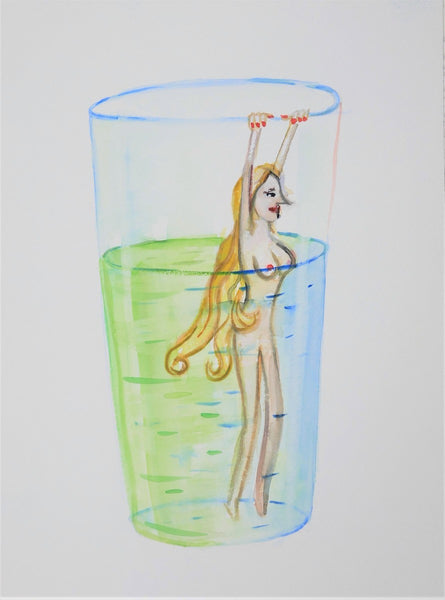 Sadie Chandler 'Untitled (Girl in a Glass)'