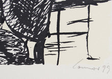 Load image into Gallery viewer, Kevin Connor 'Interior Scene in Shadow' - screenprint on paper