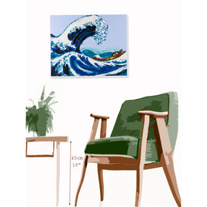 Philippe Le Miere 'Of Wave Kanagawa Great Japanese Hokusai' painting