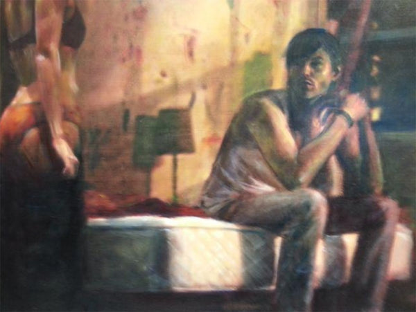Vincent Fantauzzo 'Study for Suzie Wong' - oil on canvas