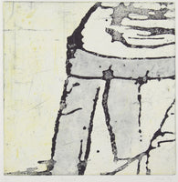 Belinda Fox 'Ascent' - etching on paper