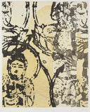 Belinda Fox 'Imbutsu - Travel Story' - etching on paper