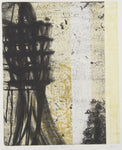 Belinda Fox 'Offering - Travel Story' - etching on paper